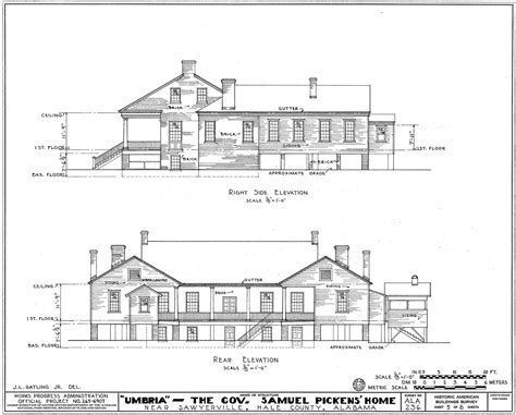 free architectural design file umbria plantation architectural drawing of west and