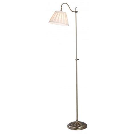 suffolk traditional antique brass floor lamp