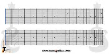 Guitar Fretboard Template by Blank Guitar Fingerboard Chart Pictures To Pin On