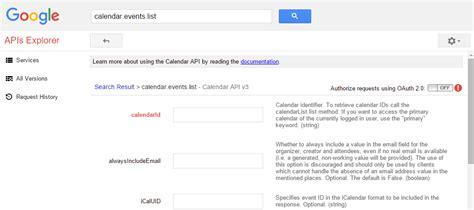 Calendar Api V3 Php Calendar Api V3 C Exle Calendar
