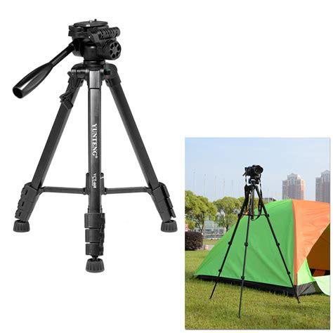 Tripod Kamera Dslr Nikon yunteng vct 668 portable dslr kamera camcorder stativ kit mit doppelten 360 grad panorama