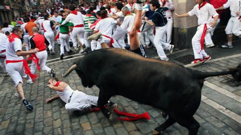 Running With The Bulls furious energy hemingway took from running of bulls
