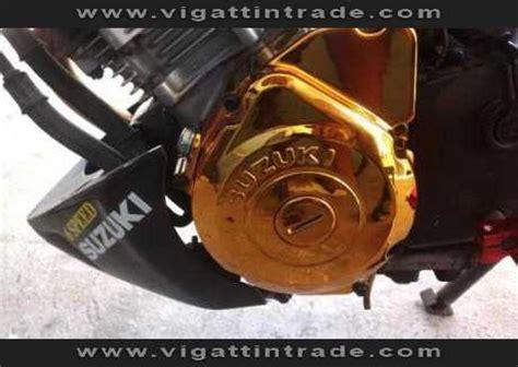 raider 150 crank case (chrome gold) vigattin trade