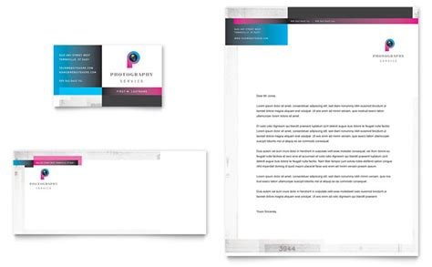 photography letterhead templates photography business business card letterhead template