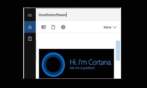 cortana search box is limited in windows 10 to microsoft how to show cortana search box on top when searching in