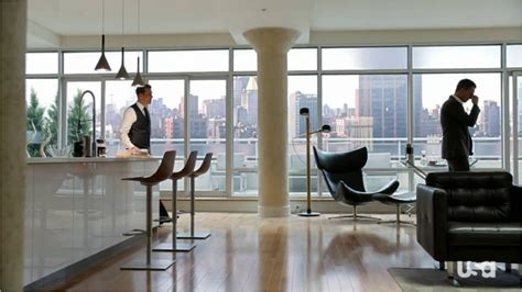 apartment design shows harvey specter s apartment suits does it get any better