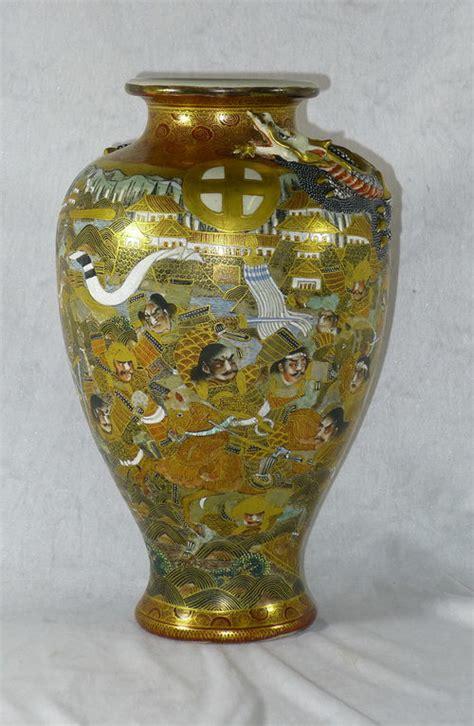 antiques atlas  century japanese satsuma vase