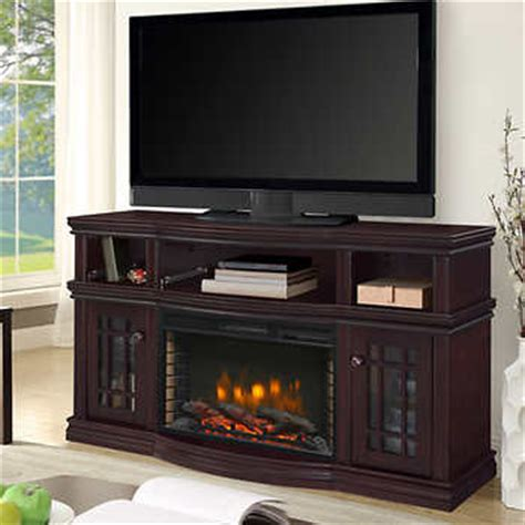 chimney free electric fireplace costco westhaven 56 quot media electric fireplace