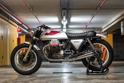 moto guzzi sp1000 cafe racer de officine rossopuro racing caf 232 moto guzzi sp 1000 quot quattrotempi quot by officine