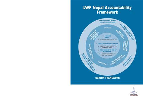 accountability framework template accountability framework 2012 nepal