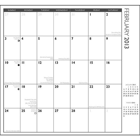 6 best images of free printable 2013 pocket calendar