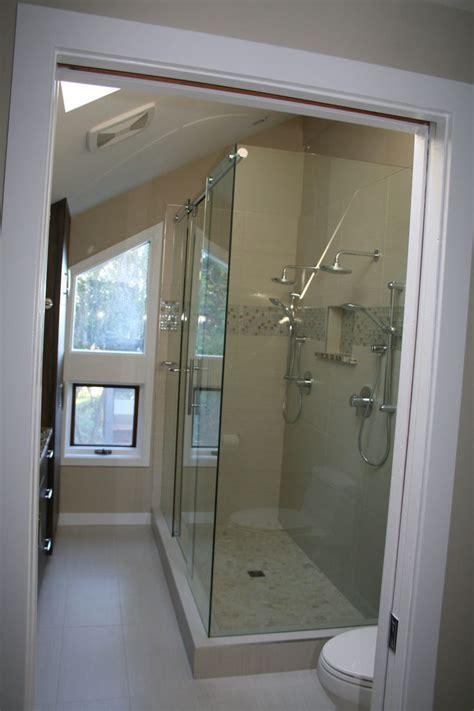 Hydroslide Shower Door With Mitered Corner Shower Doors Hydroslide Shower Door