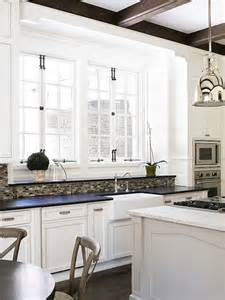 French Laundry Bedding French Windows Transitional Kitchen Sherwin Williams