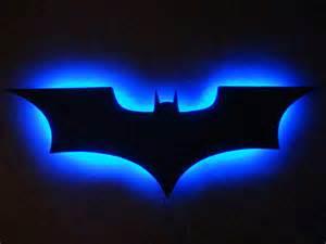 batman light batman logo led wall light light