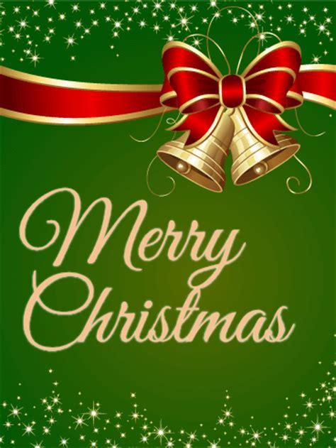 sparkling green christmas card birthday greeting cards  davia