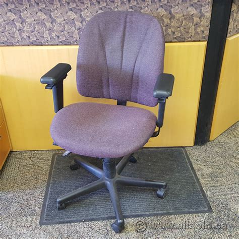Purple Furniture Donations by Purple Adjustable Rolling Fabric Chair Allsold Ca Buy