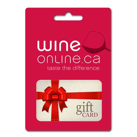 Buy Online Gift Cards Canada - buy wineonline ca gift card in canada at wineonline ca wine delivery