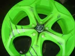 racing wheel car airbrush paint 2