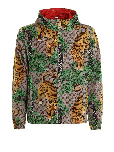 Jas Gucci Bengal Print Jacket By Gucci Casual Jackets Ikrix