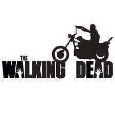 walking dead daryl motorcycle decal daryl dixon vinyl amavinyl 6 50 walking dead