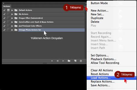 photoshop pattern nasil yüklenir photoshop a actions nasıl y 252 klenir gen 231 grafiker
