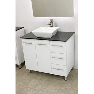 Free Standing Bathroom Sink Vanity by Windbay 36 Quot Free Standing Bathroom Vanity Sink Set