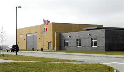 Waukee Post Office by Waukee Elementary School Baxter Construction Co