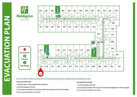 Pics For Gt Hotel Emergency Exit Plan | 2d evacuation plans silverbear design