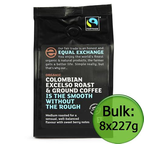 Excelso Coffee columbian excelso ground coffee 8x227g