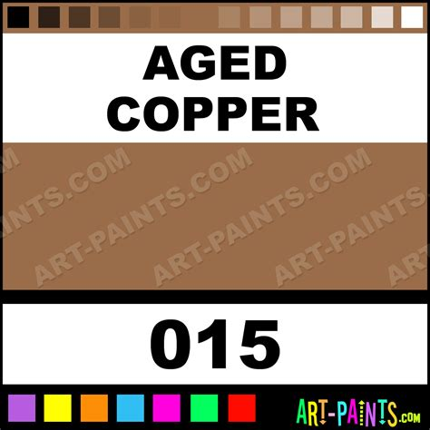 aged copper metallic metal paints and metallic paints 015 aged copper paint aged copper