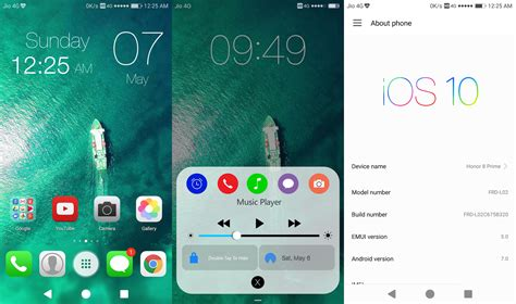 ios themes emui 3 0 ios 10 final build emui 5 theme emui themes