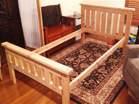diy  bed frame diy bed frame kids twin bed frame