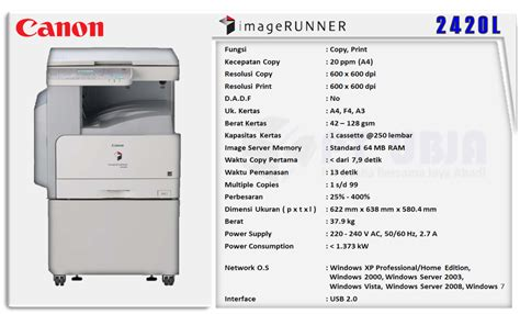 Printer Canon Sekaligus Fotocopy canon photo copy jual mesin photo copy canon