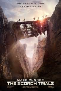 new maze runner the scorch new poster for maze runner the scorch trials