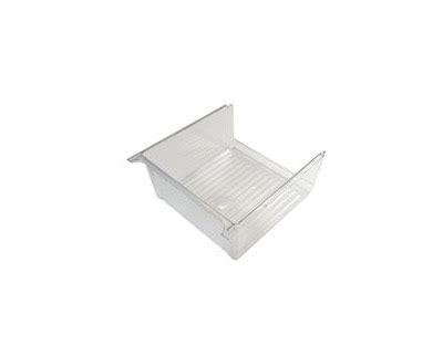 whirlpool refrigerator parts vegetable drawer ge tfz22prdabb refrigerator clear vegetable crisper drawer