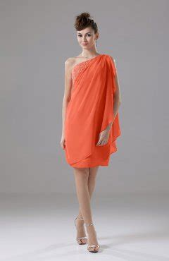 persimmon color dress persimmon color of the uwdress