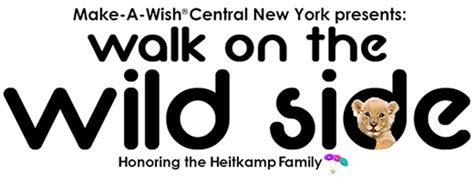 make a wish invites central new york to walk on the wild