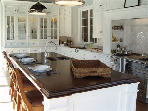 kitchen block island butcher block island countertop transitional kitchen