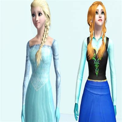 frozen elsa and anna by yazzybaby09 the exchange