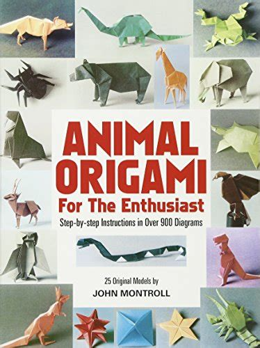 Animal Origami For The Enthusiast - eclectic books and more trusted by 116 customers in
