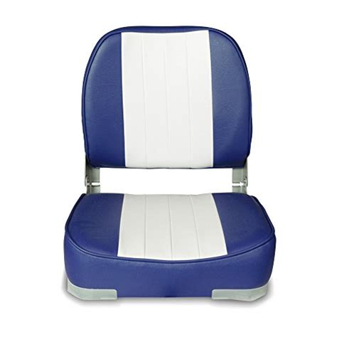 leader folding boat seat new leader accessories deluxe folding marine boat seat