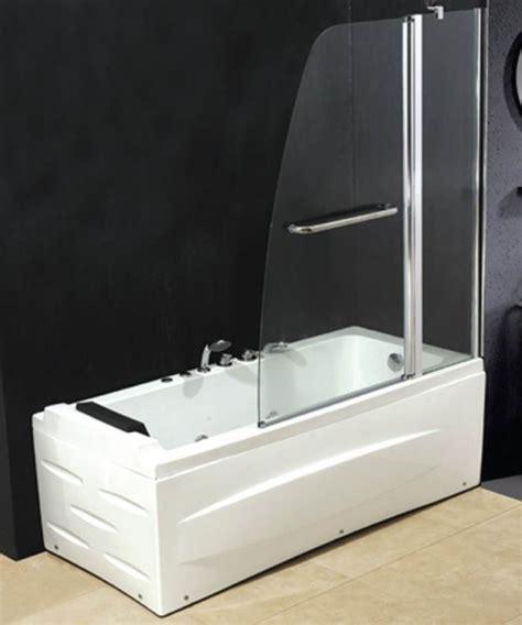 vasca da bagno in vetro tende box doccia parete vetro per vasca da bagno quale