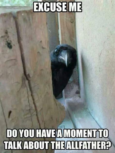 Raven Meme - shamanism the spirit of the raven gustav holberg