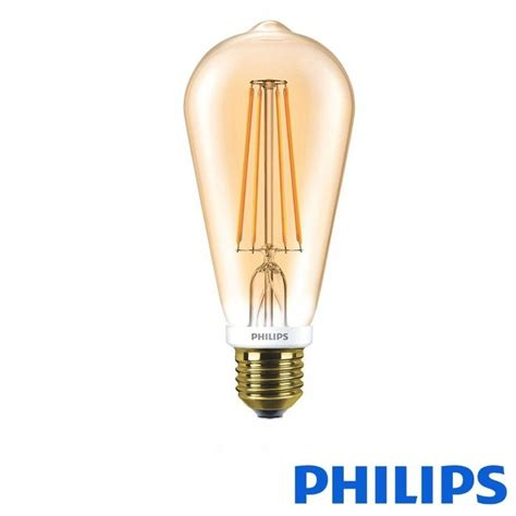 Led Philips 7w philips classic led bulb e27 7w 55w 2500k 720 lm dimmer st64 vintage bulb diffusione luce srl