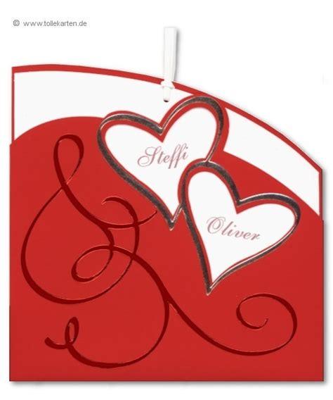 Hochzeitskarten Rot by Hochzeitskarten Einladungskarten