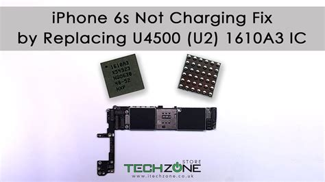 iphone   charging fix  replacing    ic youtube