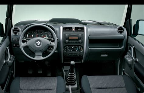 Suzuki Jimny Interior Suzuki Jimny Specs 2005 2006 2007 2008 2009 2010
