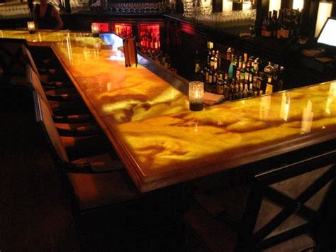 onyx bar top onyx bar top backlit with light tape http www lighttape