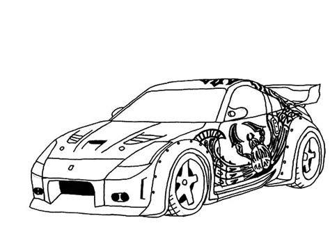 car engine coloring page drift coloring pages