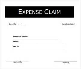 expense voucher template 5 microsoft word format voucher templates free
